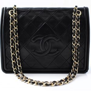 chanel quilted shoulder cc bag