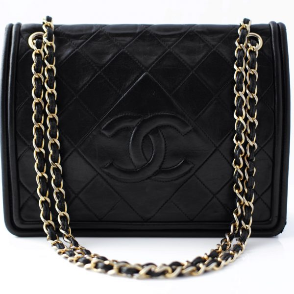 Chanel quilted shoulder