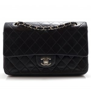 Chanel Medium Double Flap SHW