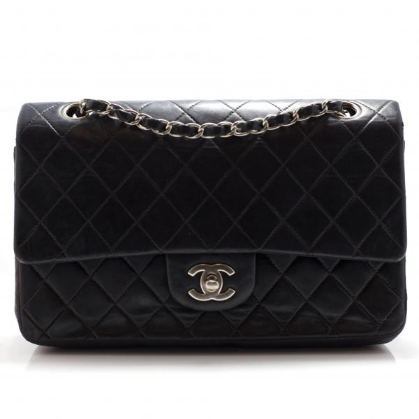 Chanel Medium Double Flap SHW