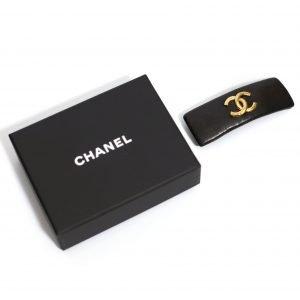 Chanel CC logo hårspenne